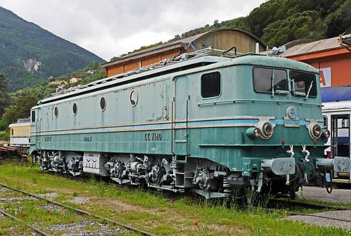 Sncf, Rekordlok, Museum, Six-axial, Electric Locomotive
