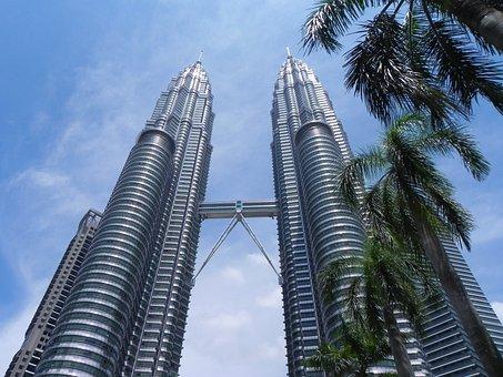 Petronas, Twin Towers, Mal, Malaysia, Kuala, Lumpur