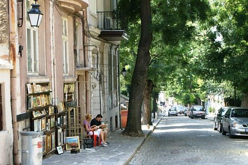 Plovdiv, Bulgaria, Street, The Old Town, Historical