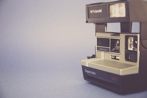 Polaroid, Camera, Instant, Right Away, Instant Camera