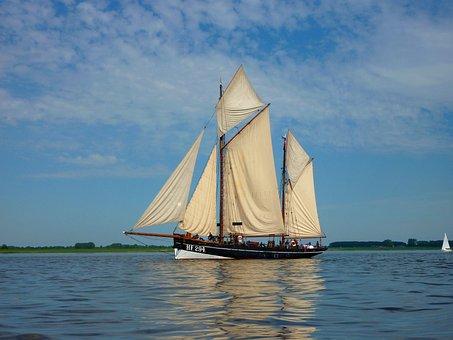 Cutter, Sailing Vessel, Maritime, Ship, Boot, Seafaring