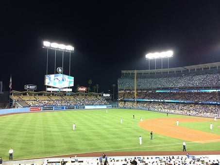 Dodger Stadium, Baseball, Sports, Vin Scully, Stadium