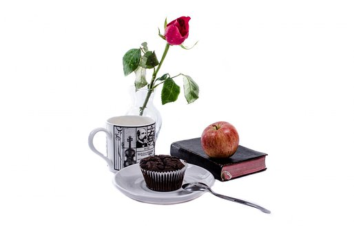 Breakfast, Food, Morning, Start, Energy, Rose, Flower