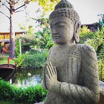 Buddha, Yoga, Meditation, Peace, Om, Statue, Sculpture