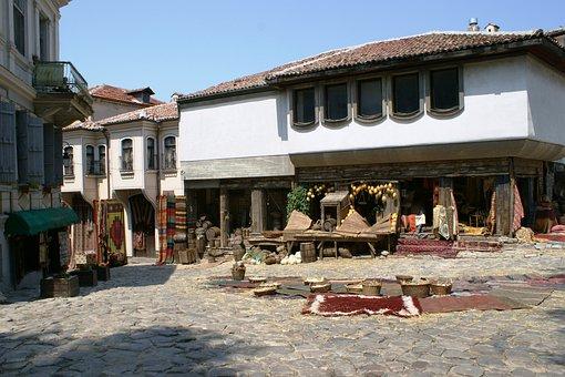 The Old Town, Plovdiv, Bulgaria, Bazaar
