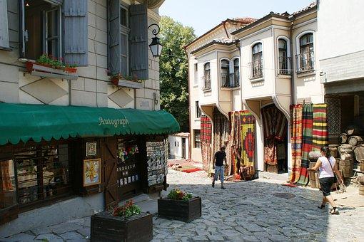 The Old Town, Plovdiv, Bulgaria, Street, Regional