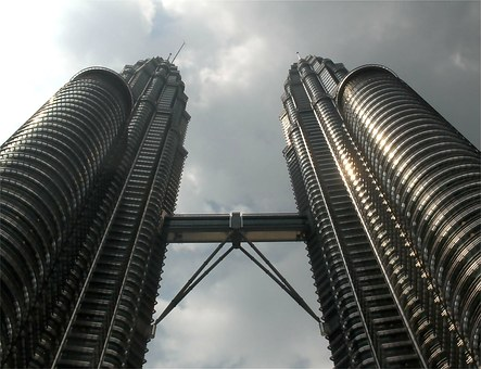 Kl, Malaysia, Towers, Petronas, Twin Towers