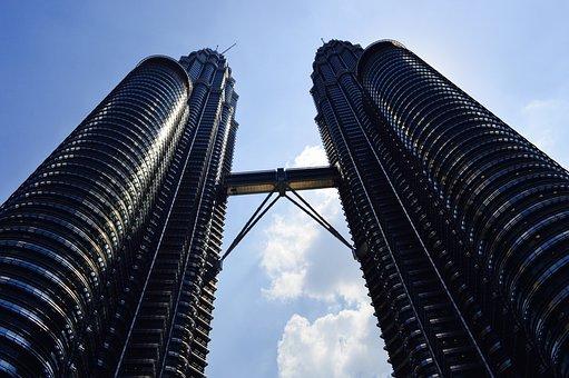 Petronas Twin Towers, Kuala Lumpur, Malaysia, Travel