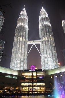 Klcc, Twin Tower, City, Twin, Malaysia, Lumpur, Kuala
