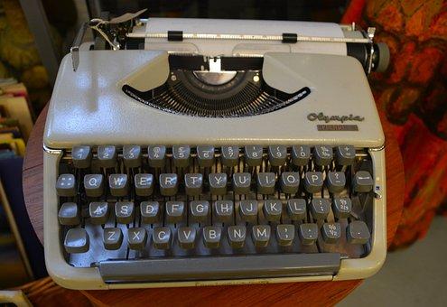 Typewriter, Vintage, Vintage Typewriter, Old, Retro