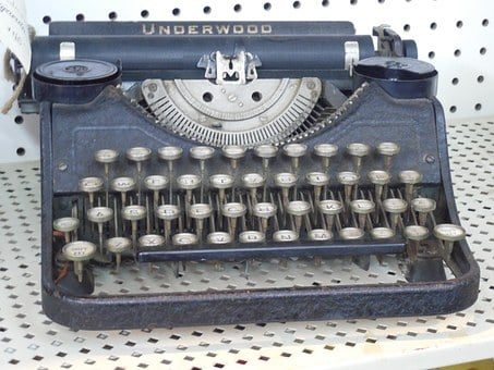 Typewriter, Typing, Vintage, Retro, Old, Type, Antique