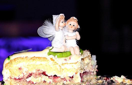 Birthday Cake, Wedding Cake, Surprise, Figures