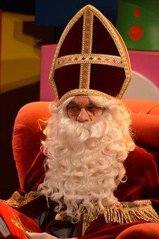 Saint Nicholas, Sint Nicolaas, White Beard, Mitre