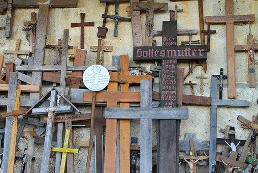Cross, Crosses, Pilgrims Crosses, Wooden Cross