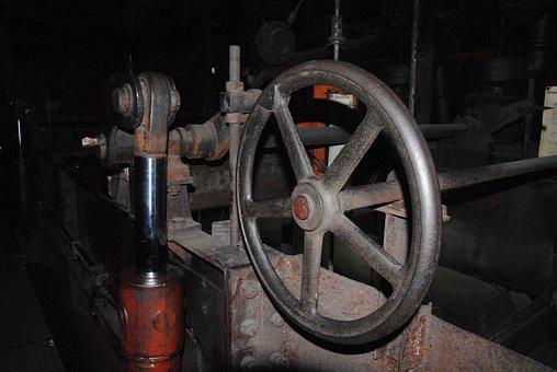Valve, Machine, Industry, Museum, Bill, Zollverein