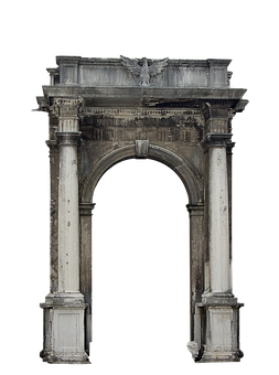 Portal, Columns, Architecture, Building, Entrance, Arch