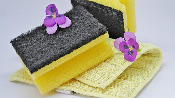 Hygiene, Bad, Towel, Bathroom, Soap, Sponge, Wash