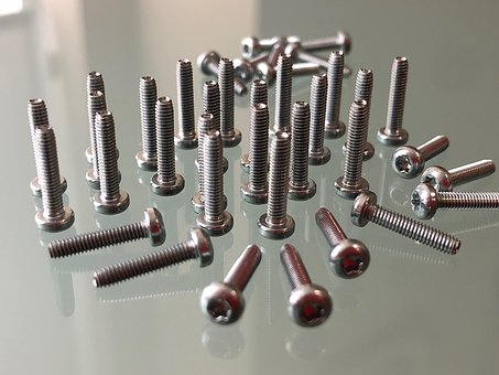 Steel, Screw, Bright, Metallic, Industry, Taptite