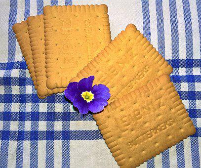 Cookies, Butter Biscuits, Small Cakes, Sweetness, Sweet