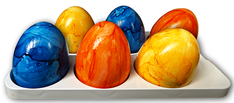 Easter Eggs, Egg, Colorful Eggs, Colored, Painted