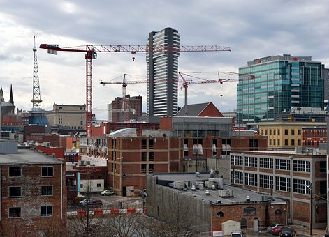 Architecture, Construction Sites, Population Growth