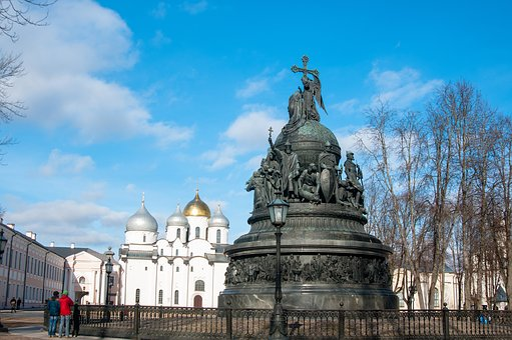 Architecture, Travel, Outdoors, Sky, Novgorod, Great