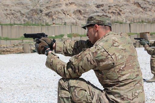 Military, Gun, Army, Soldier, Weapon