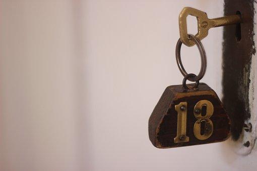 Security, Lock, Desktop, Antique, Metal Key, Old, Retro