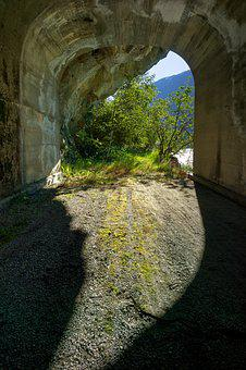 Tunnel, Old Road, Travel, Abandoned