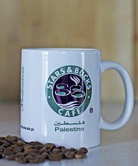 Palestine, Coffee, Coffee Beans, Mug, Israel, Cup
