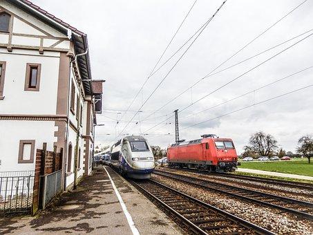 Train, Railway, Railway Line, Transport System