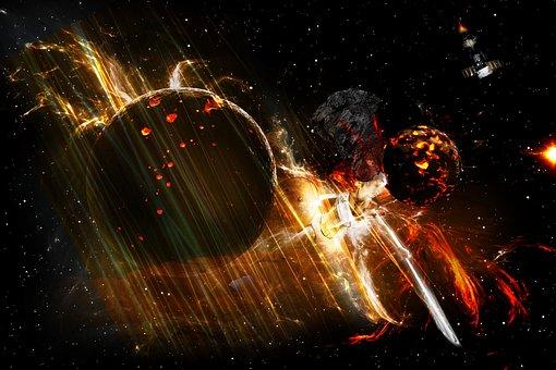 Science, Motion, Light, Desktop, Energy, Space