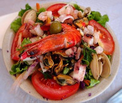 Eating, Dinner, Juicy, Seafood, Shrimp, Shells, Meat
