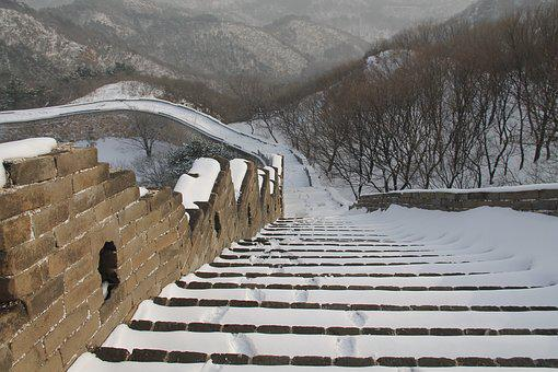 Winter, Snow, Outdoor, Nature, Cold, Stairs, Tourism