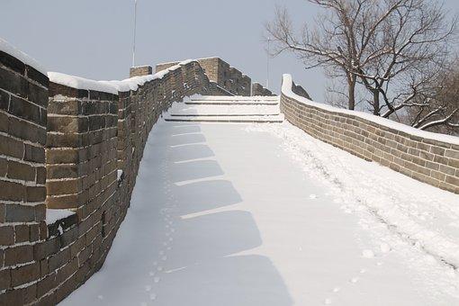 Winter, Snow, Sky, Building, Outdoor, Landscape, Wall