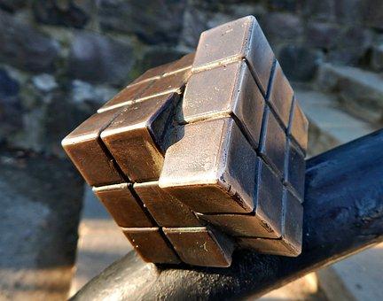 Cube, Expression, Architecture, Sculpture, Statue