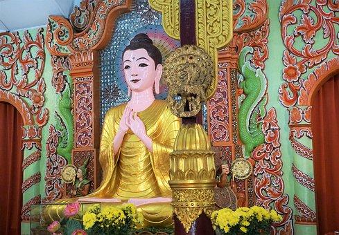 Buddha, Religion, Temple, Art, Spirituality, Ornament