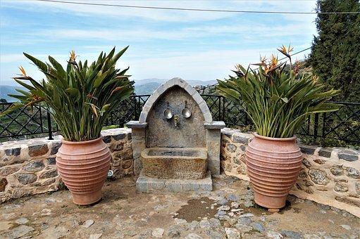 Pot, Terrace, Pottery, Summer, Cera Monastery