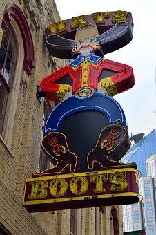 Boots For Sale, Nashville Tennessee, Tourism