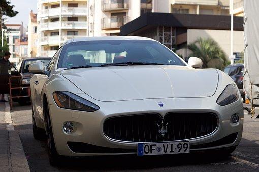 Car, Vehicle, Transportation System, Road, Maserati