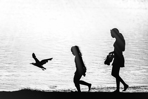 Action, Water, People, Recreation, Two, Beach