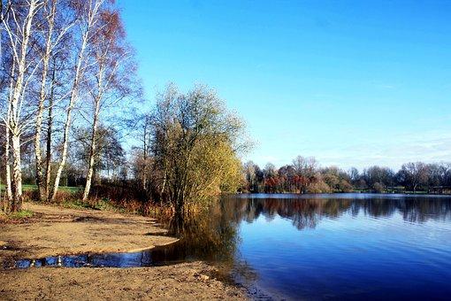 Lake, Vörder Country, Bremervörde, Vörder Lake