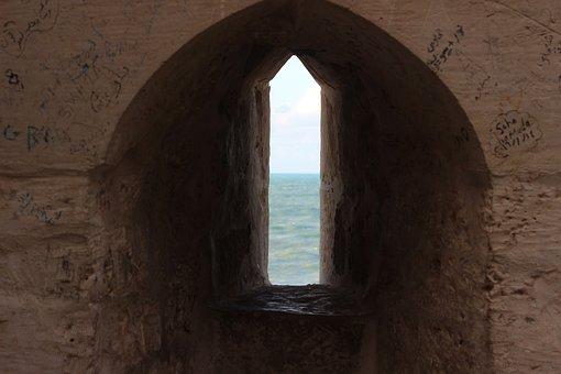 Architecture, Arch, Travel, Door, Window, Doorway, Wall