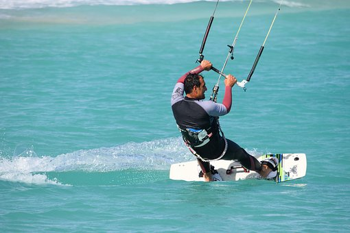 Kitesurfing, Skill, Action, Adventure, Active, Activity
