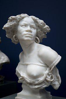 Sculpture, Statue, Art, Marble, Ancient, Woman, Slave