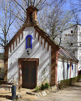 Architecture, Old, House, Christian Cross, Building