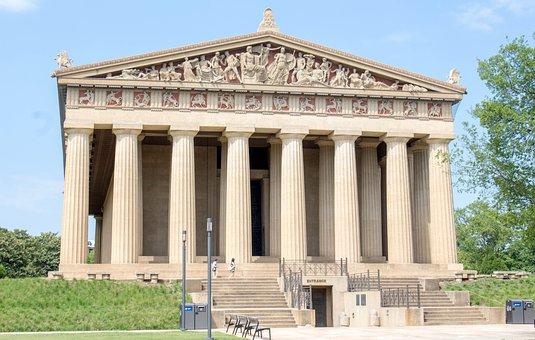 Architecture, Column, Monument, Building, Sky
