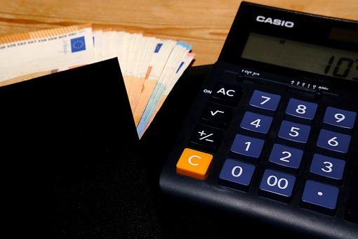 Desktop Computer, Calculator, Accounting