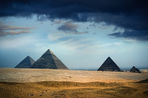 Pyramid, Outdoors, Travel, Sky, Desert, Sand