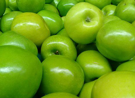 Food, Fruit, Bless You, Healthy, Green Apple, Fresh